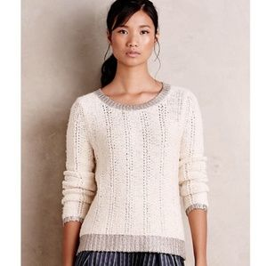 Anthropologie Chunky Knit Sweater - Moth Brand